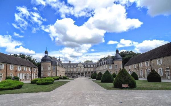 Château de Pierre de Bresse,mai 2019.