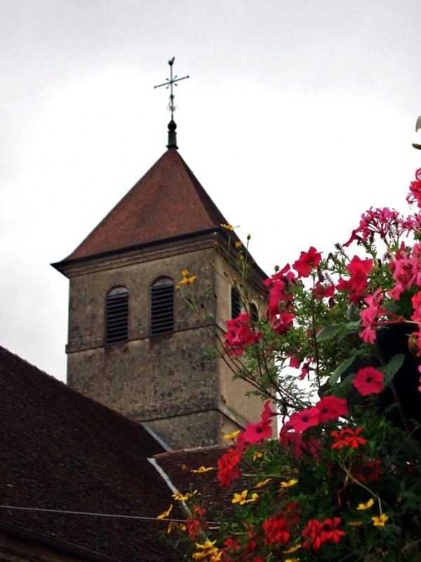 Photo Saint-Germain-du-Bois - Clocher de saint Germain du bois 71
