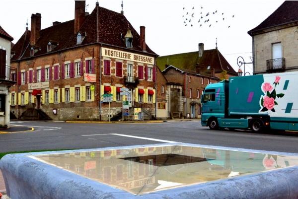 Saint Germain du bois.71.Centre ville.
