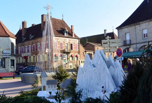Saint-germain du bois  71- Décembre 2015.