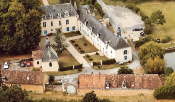 vue d'ensemble du château du XVII°