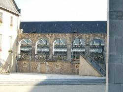 Photo paysage et monuments, La Flèche - Arcades derrière la mairie