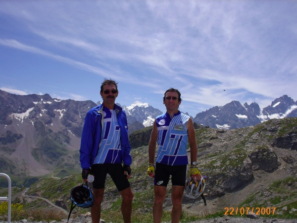 Photo Valloire - Sommet du Galibier, BRA 2007