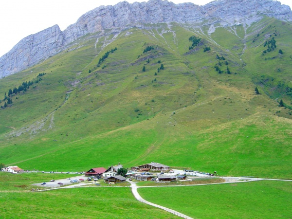 Photo La Clusaz - Col des Aravis -1486 m -