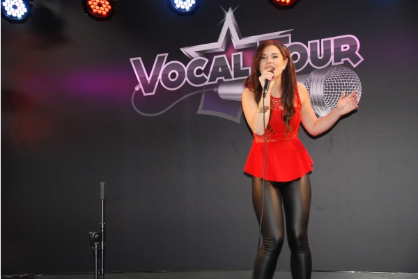 Elodie Mercier, Gagnante du Vocal Tour 2015