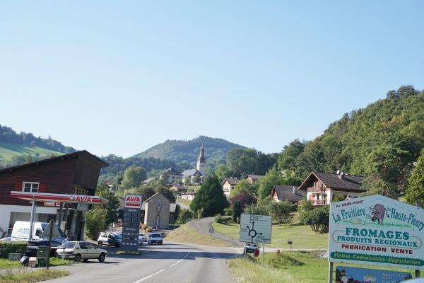 Photo Mieussy - le village