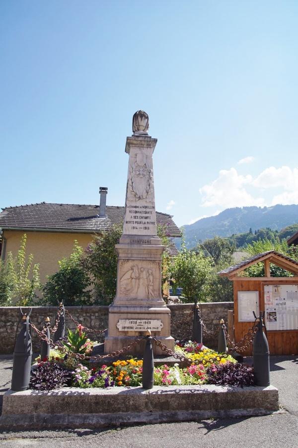 Photo Morillon - le monument aux morts