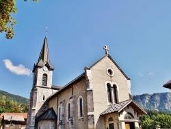 Photo paysage et monuments, Saint-Jean-de-Sixt - église St Jean-Baptiste