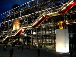 Photo paysage et monuments, Paris - beaubourg