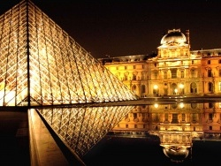 Photo paysage et monuments, Paris - le louvre