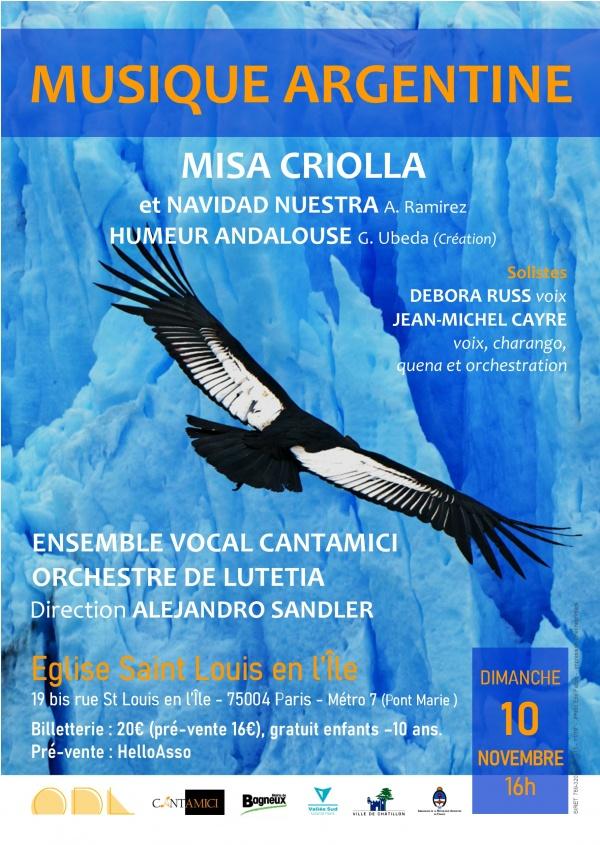 Concert de Musique argentine: Misa Criolla