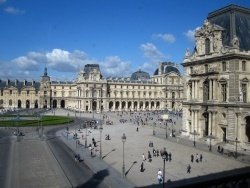 Photo paysage et monuments, Paris - Le Palais du Louvre