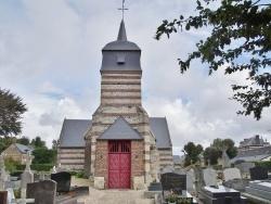 Photo paysage et monuments, Ancretteville-sur-Mer - église St Amand