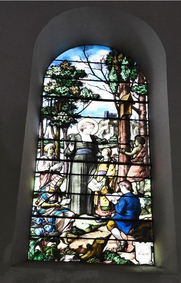 Photo Angerville-l'Orcher - Vitraux église Notre Dame