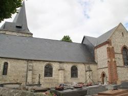 Photo paysage et monuments, Anneville-sur-Scie - église St Valéry