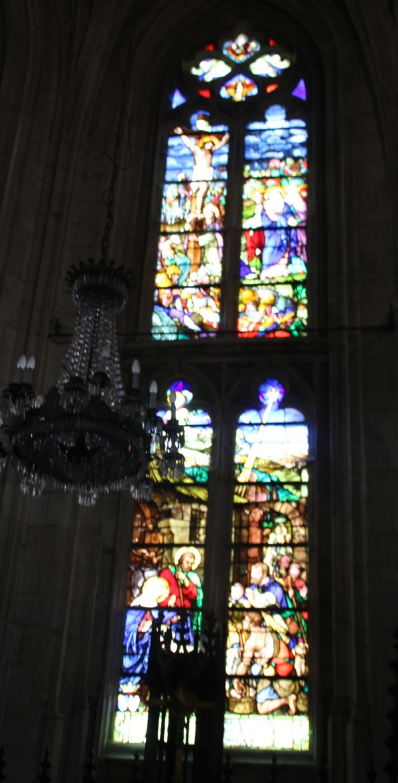 Photo Aumale - Vitraux St Pierre St paul