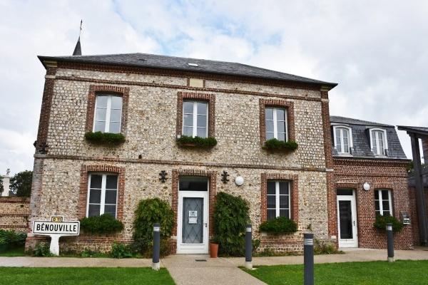 Photo Bénouville - la Mairie