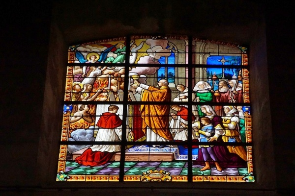 Photo Bolbec - Vitraux église St Michel