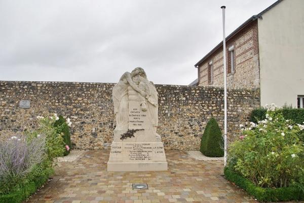 Photo Cauville-sur-Mer - le monument aux morts