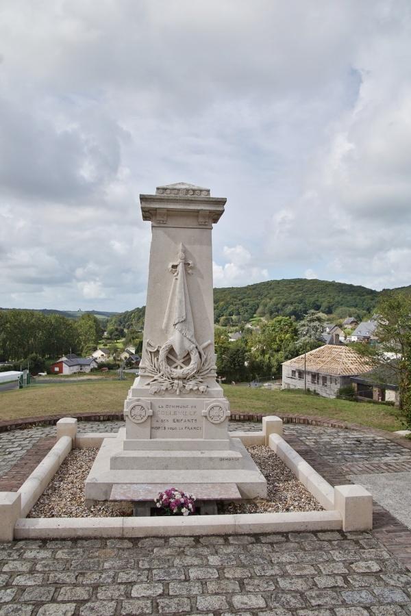 Photo Colleville - le monument aux morts