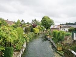 Photo paysage et monuments, Crosville-sur-Scie - la rivière la scie