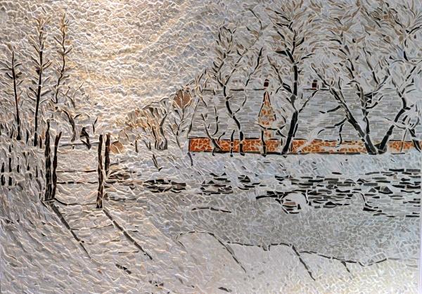 La Pie. Influence Claude Monet.
