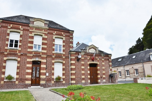 Photo Ganzeville - la Mairie