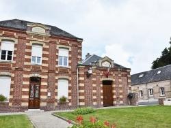 Photo paysage et monuments, Ganzeville - la Mairie
