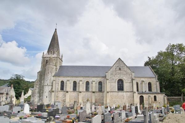 Photo Ganzeville - église Saint remi