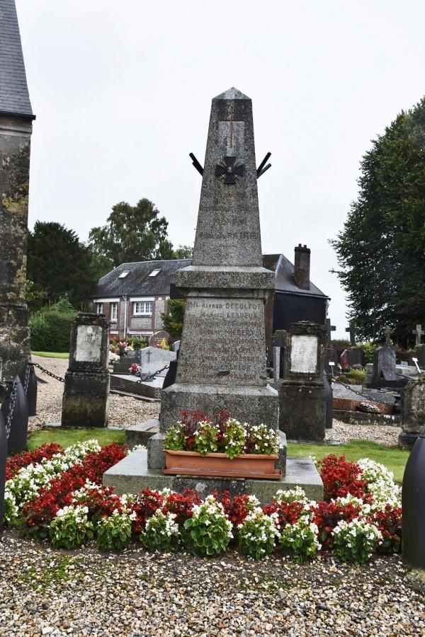 Photo Gonfreville-Caillot - le monument aux morts