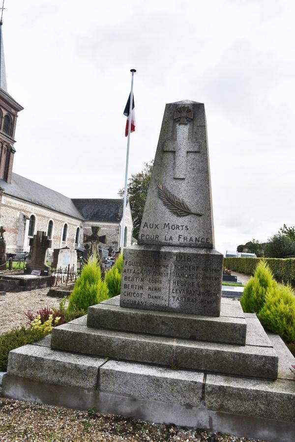 Photo Grainville-Ymauville - le monument aux morts