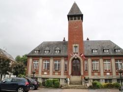 Photo paysage et monuments, Longueville-sur-Scie - la mairie
