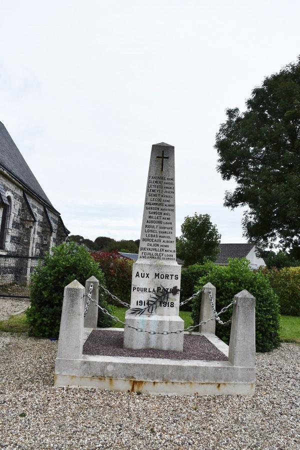 Photo La Poterie-Cap-d'Antifer - le monument aux morts