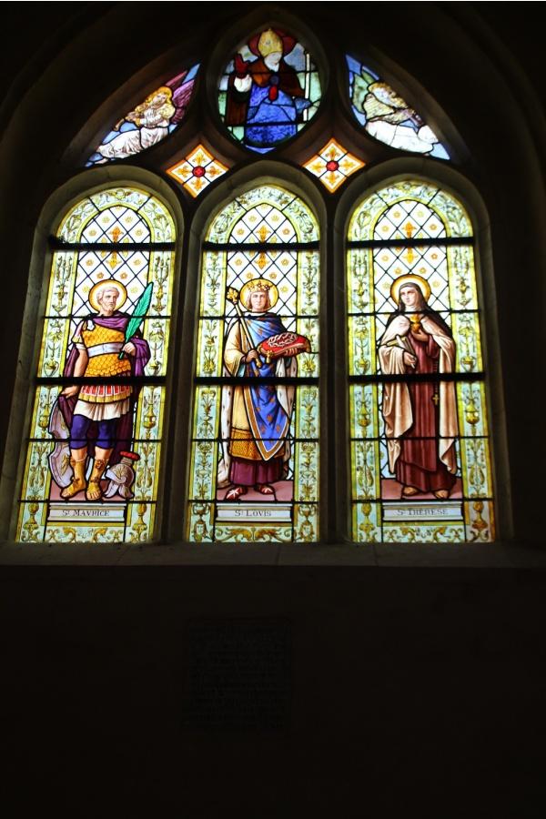Photo Saint-Nicolas-d'Aliermont - Vitraux St Nicolas
