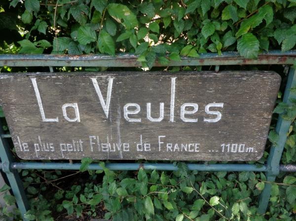 LE PLUS PETIT FLEUVE DE FRANCE 1100 m