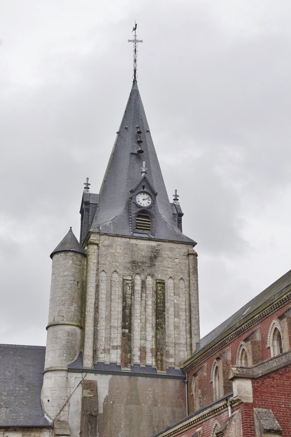le clocher église St Leger