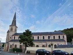 Photo paysage et monuments, Yport - église St Martin