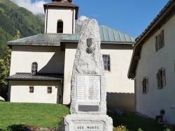 Photo paysage et monuments, Argentières - le Monument Aux Morts