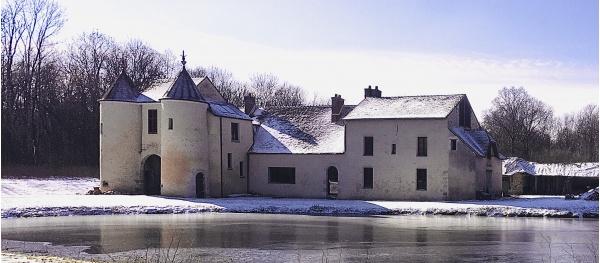 Photo Les Chapelles-Bourbon - Le Domaine du Ménillet sous la neige hiver 2020/21