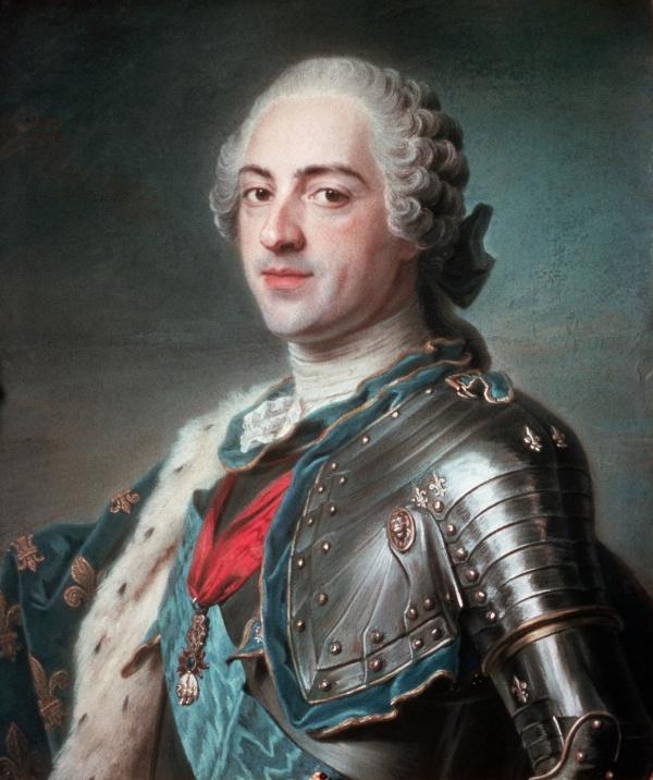 Louis XV (Le bien aimé) Roi de France et de Navarre