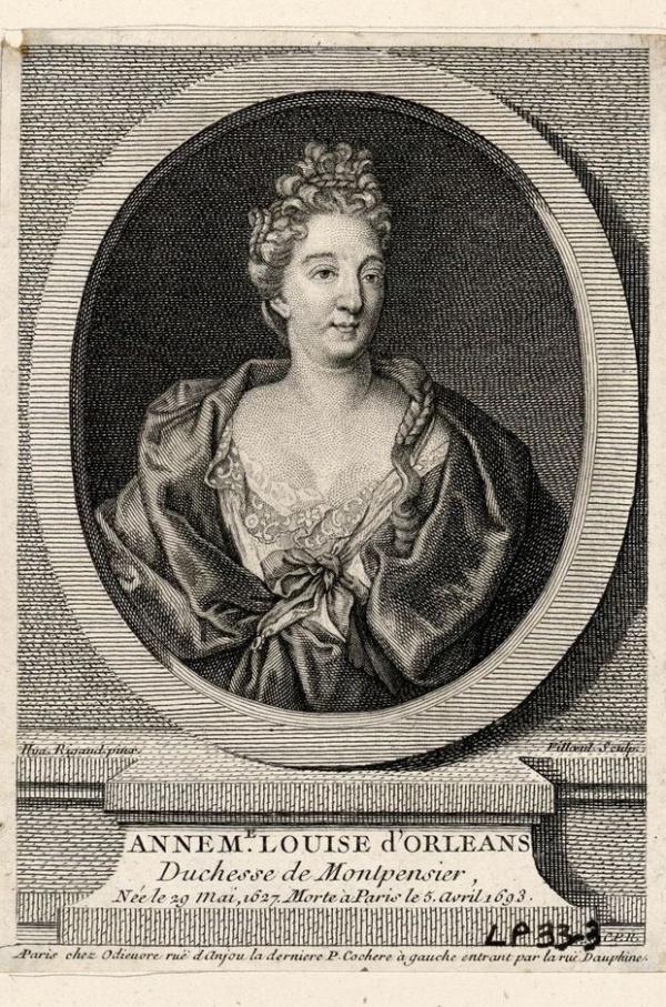 Anne-Marie-Louise d'Orléans dite la grande mademoiselle