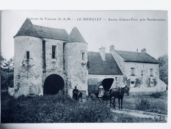 Le château du Ménillet sous la période Louis Singer 1905/1910