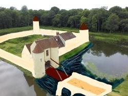 Photo paysage et monuments, Les Chapelles-Bourbon - A quoi ressemblait le Ménillet avant 1367 ⚜️