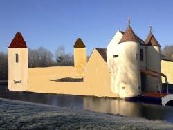 Photo paysage et monuments, Les Chapelles-Bourbon - Image virtuelle du Ménillet au moyen âge