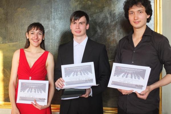 Palmarès 2018: Concours International Piano IDF