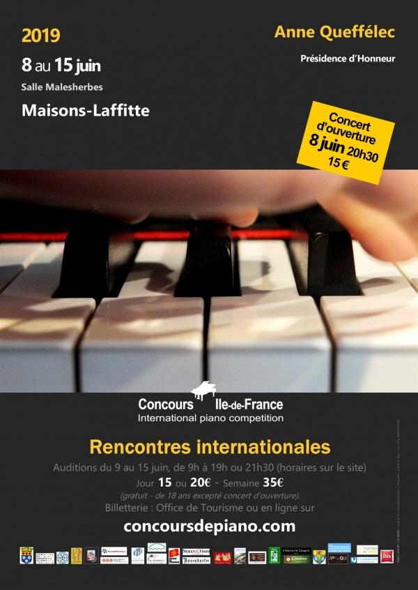 Photo Maisons-Laffitte - 21e Concours International de Piano IDF