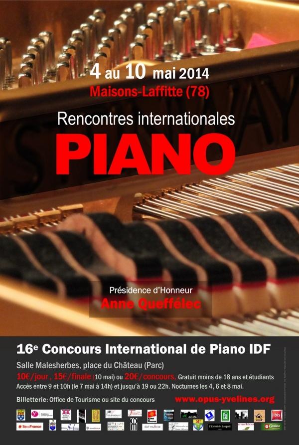16e concours international de piano idf maisons laffitte 2014 une photo de - Concours maison laffitte ...