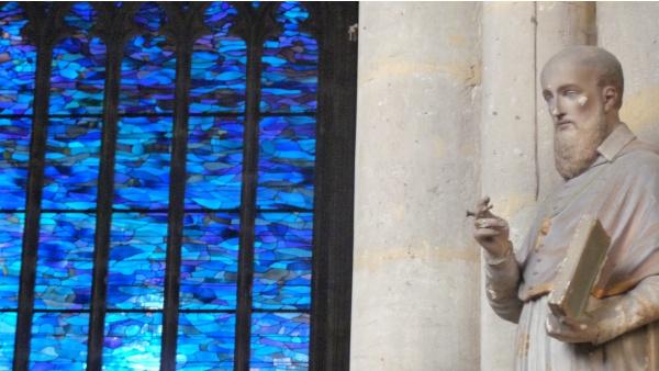 St-Sépulcre Abbeville - vitraux Manessier