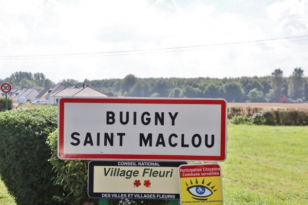 Photo Buigny-Saint-Maclou - buigny saint maclou (80132)