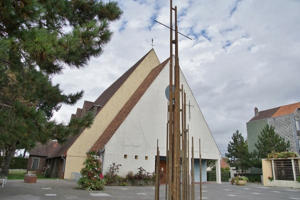 Photo Fort-Mahon-Plage - église Notre Dame